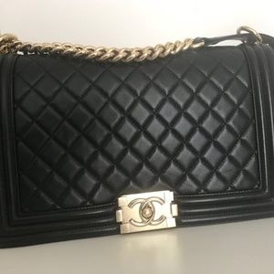 Authentic Chanel Boy Bag | Black | Great Condition